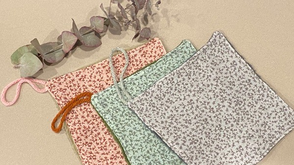 Pack organic cotton towels
